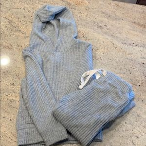 Thermal sweater and pant set